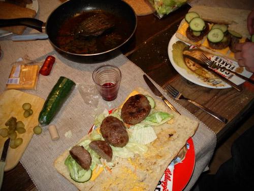Vleesbakkerij door onze Eindhovense vriend Niels.