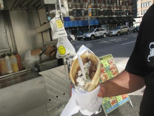 New Yorkse kebabwrap
