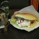 Weens broodje in Berlijnse Strasse