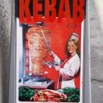 Arische kebabreclame in Italië