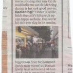 Mustafa credits in de Volkskrant….