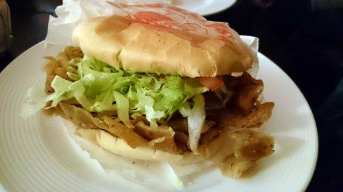 Broodje Döner van Kebabhuis Didim
