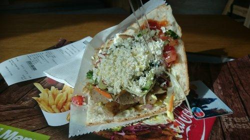Sandwich doner van de Kebap Factory