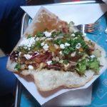 Donnies pompoen geitenkaas kebab